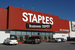 Staples/ The Business Depot Stock Photos