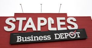 Staples Business Depot Royalty Free Stock Photography