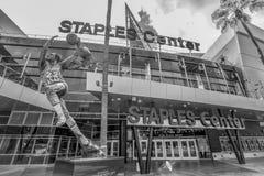 Staples Center на городских Лос-Анджелесе - КАЛИФОРНИЯ, США - 18-ОЕ МАРТА 2019 стоковое фото rf