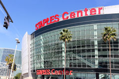 Staples Center Imagenes de archivo