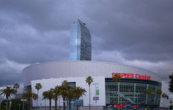 Staples Center Lizenzfreie Stockfotos