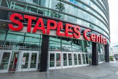Free Staples Center At Downtown Los Angeles - CALIFORNIA, USA - MARCH 18, 2019 Stock Photo - 145058820