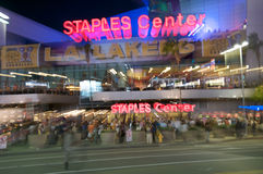 Free Staples Center In Los Angeles Stock Images - 16680714