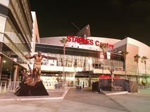 Staples Center in Los Angeles Stock Image