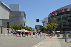 Staples Center śródmieścia los angeles Fotografia Royalty Free