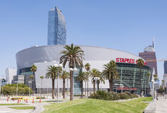 Staples Center royalty free stock images