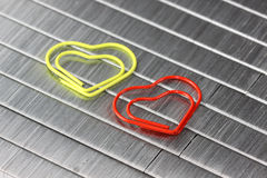Staples and clips Royalty Free Stock Photography