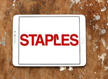 Staples marca o logotipo Foto de Stock Royalty Free