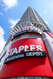 Staples Sign Stock Image