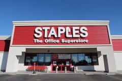 Staples speichern Lizenzfreies Stockfoto