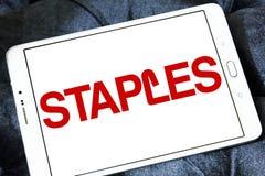 Staples stigmatisent le logo Photo stock