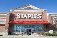 Staples Store Royalty Free Stock Photography