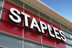 Staples Storefront Royalty Free Stock Photos