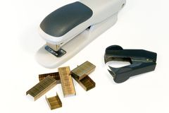 Stapling kit Stock Image