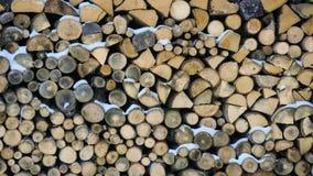 Staplungsbrennholzbeschaffenheit lizenzfreies stockbild