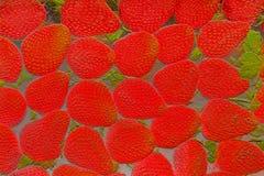 Staplungserdbeeren extrahieren Grafikentlastung stockfoto