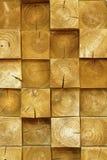 Staplungsklotzwand, konkrete Beschaffenheit lizenzfreie stockfotografie