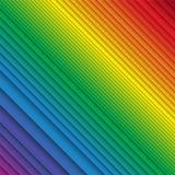 Staplungsregenbogen farbige Streifen vektor abbildung