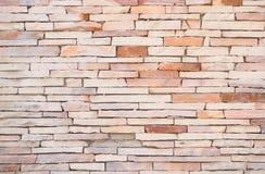 Staplungsstein-Wand Stockbild