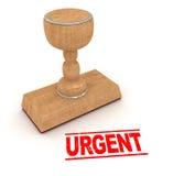 Stapm en caoutchouc - urgent Images stock