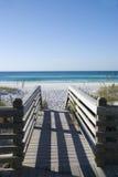 Stappen aan golfkust Stock Fotografie
