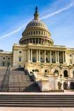 Stappen aan het Capitool van Verenigde Staten, in Washington, gelijkstroom Stock Foto's