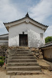 Stappen bij het Kasteel van Himeji Royalty-vrije Stock Fotografie