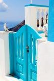 Stappen in Thira, Santorini, Griekenland royalty-vrije stock afbeelding