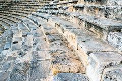 Stappen van een oud amphitheater Royalty-vrije Stock Fotografie