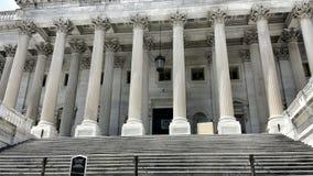Stappen van het Capitoolgebouw Royalty-vrije Stock Fotografie