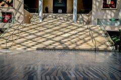 Stappen van het Stadhuis van Edmonton, Alberta, Canada Royalty-vrije Stock Foto