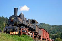 starą lokomotywę Zdjęcia Stock