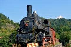 starą lokomotywę Fotografia Royalty Free