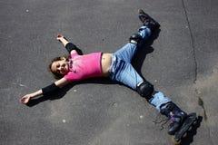 Star. Girl royalty free stock photos