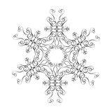 Star. Ornamental star royalty free illustration