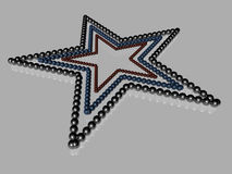 Star - 3D Royalty Free Stock Image