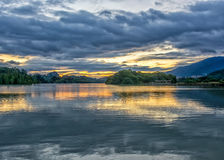 Star湖 免版税图库摄影