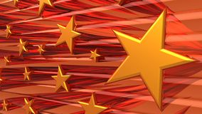 Star abstract background. Royalty Free Stock Image