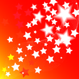 Star abstract background Stock Image