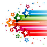 Star abstract background design. Color Star abstract background design Stock Image