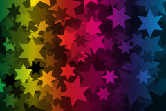 Star - abstract geometric background Royalty Free Stock Photos