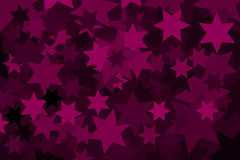 Star - abstract geometric background Royalty Free Stock Photography