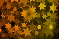 Star - abstract geometric background Stock Image