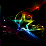 Star, Abstract Poster Stock Photo