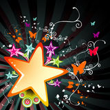 Star abstract vector Stock Photography