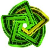 Star abstract stock illustration