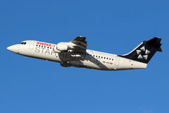 Star Alliance aircraft Royalty Free Stock Photography