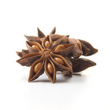 Star Anise. (Illicium verum) or Chinese  spice. Studio image  on white background. Square crop Stock Photo