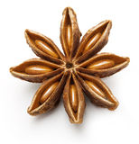 Star anise, badiane isolated Royalty Free Stock Photography