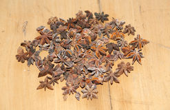 Star-Anise. Beautiful and exotic spice Royalty Free Stock Images